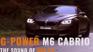 Download G-power BMW M6 Convertible with changed turbos: 800 HP Video