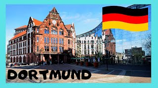 Download DORTMUND, the central SHOPPING PEDESTRIAN DISTRICT (GERMANY) Video