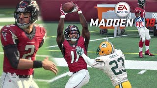 Download Madden 18 Packers vs Falcons Gameplay (Mercedes-Benz Stadium) Full Game Video