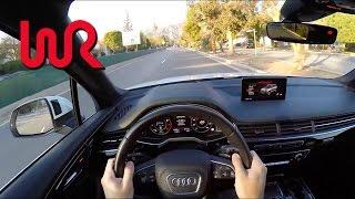 Download 2017 Audi Q7 3.0T quattro - WR TV POV City Drive Video