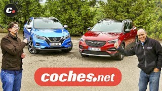 Download Nissan Qashqai vs Opel Grandland X 2019 SUV | Prueba Comparativa / Test / Review | coches Video