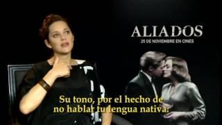 Download 'Aliados', entrevista con Marion Cotillard Video