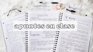 Download APUNTES EN CLASE RÁPIDOS Y ORGANIZADOS | apuntes 'minimalistas' | sofiapricot Video
