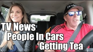 Download TV News People in Cars Getting Tea (Sonni Abatta) Video