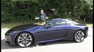 Download Here's Why the 2018 Lexus LC500 Costs $100,000 Video