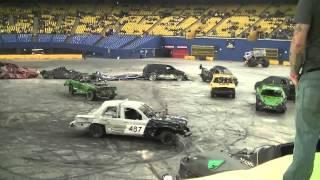 Download Montreal Monster Spectacular Demolition Derby 2012 Video