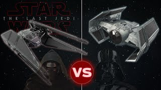 Download Tie Advanced vs Tie Silencer (Kylo Ren's 'The Last Jedi' Starfighter ) | Star Wars: Who Would Win Video