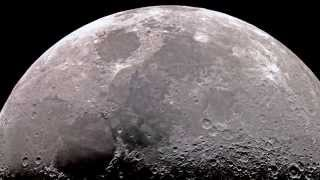 Download Moon in High Resolution through Telescope Video