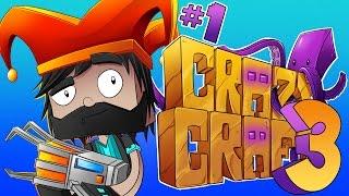 Download NO TOLERANCE FOR CRIMINALS! [#1] | Minecraft : Crazy Craft 3.0 Video