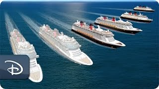 Download Guests Celebrate New Ship Announcements | Disney Cruise Line Video