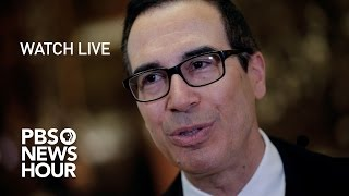 Download WATCH LIVE: Steven Mnuchin confirmation hearing Video