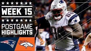 Download Patriots vs. Broncos | NFL Week 15 Game Highlights Video