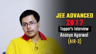 Download JEE Advanced-2017: Topper's Interview - Ananye Agarwal (AIR-3) Video
