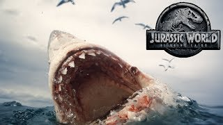 Download TODO sobre el Megalodon en Jurassic World 2 y su polémica escena Video