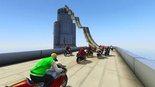 Download SE ME ESTROPEA LA MOTO!!! - CARRERA GTA V ONLINE - GTA 5 ONLINE Video