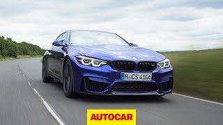 Download 2017 BMW M4 CS: Is the new 454bhp CS worth its £90k price tag? | Autocar Video