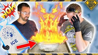 Download How To Make FIRE on ICE (Sorta) Video