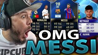 Download OMG I GOT MESSI!! GREATEST RAGE EVER - FIFA 17 ULTIMATE TEAM Video