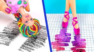 Download 9 Weird Ways To Sneak Barbie Dolls Into Class / Clever Barbie Hacks And LOL Surprise Hacks Video