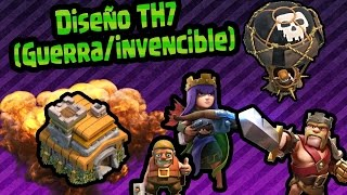 Download Diseño Para guerra TH7 || (Invencible/#TheBestBase) || MagicPro COC Video