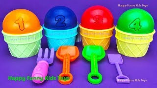 Download 4 Play Doh Ice Cream Cups Surprise Toys Yowie Chupa Chups Barbie Surprise Egg Video