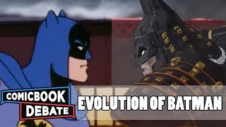Download Evolution of Batman in Cartoons in 45 Minutes (2018) Video