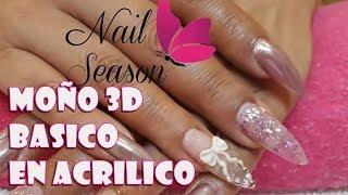 Download Moño 3d acrilico glitter para principiantes Video