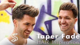 Download Taper fade and texture - Barber haircut - Mens hairstyle inspiration Video