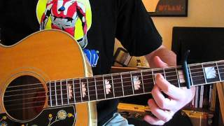 Download While My Guitar Gently Weeps Lesson (Anthology Version) - Beatles, George Harrison Video