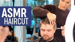Download ASMR Relaxing Haircut - Professional Scissor Cut - Sleep Inducing Video