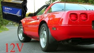 Download How to Replace a Battery in a C4 Corvette Video