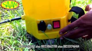 Download Alat Semprot tenaga batery 2 in 1 (0331-335163/081230662789/082331746464) Video