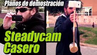 Download Steadycam casero, planos de demostración Video