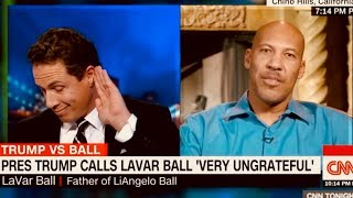 Download Totally Bizarre & Irrational - WHY NOT THANK TRUMP? UCLA Player Father LaVar Ball VS CNN Cuomo Video
