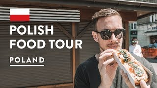 Download IS POLISH FOOD GOOD?! Krakow Food Tour - EatPolska Poland | Travel Vlog 2018 Video