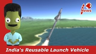 Download India's Reusable Launch Vehicle   RLV HEX-1   KNews #40 Video