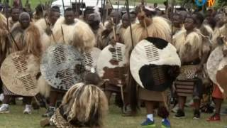 Download His Majesty King Mswati III has commissioned Tingatja regiment Video