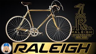 Download Gold Plated Raleigh Road Bike Special Centenary Edition Video