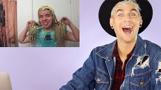 Download HAIRDRESSER REACTS TO ANOTHER EPIC BLEACH FAIL! (lol never gets old) |bradmondo Video