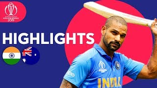 Download Dhawan Strikes Super Century! | India vs Australia - Match Highlights | ICC Cricket World Cup 2019 Video