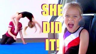 Download SHE FINALLY GOT HER BACK HANDSPRING!!! 👧🏽👍 Video