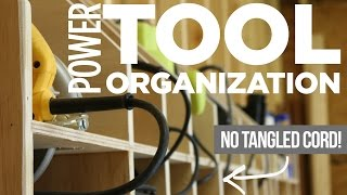 Download Mike Makes Power Tool Storage w/ Cord Organization Video
