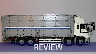 Download LEGO Technic Wing Body Truck by Madoca1977 review Video