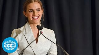Download Emma Watson at the HeForShe Campaign 2014 - Official UN Video Video