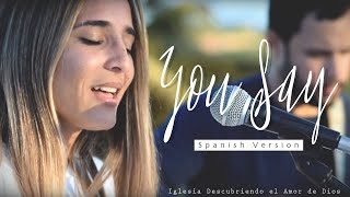 Download You Say - Lauren Daigle (ESPAÑOL) | SPANISH version (Acoustic cover with lyrics) | DANILA VASSALLO Video