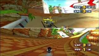 Download Sonic & Sega All-Stars Racing Two-Player Quicklook Video