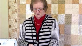 Download How to make a Log Cabin Block using colourful strips - Quilting Tips & Techniques 182 Video