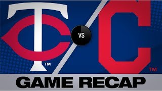 Download Santana's clutch homer powers Indians to win   Twins-Indians Game Highlights 7/14/19 Video