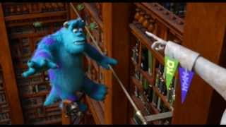 Download Monsters University - La prova in biblioteca - Clip dal film | HD Video