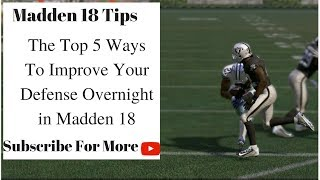 Download Madden 18 Tips - The Top 5 Defensive Tips in Madden 18 Video